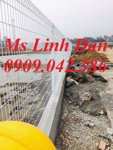 Hàng rào lưới thép mạ kẽm, hàng rào lưới thép sơn tĩnh điện,1