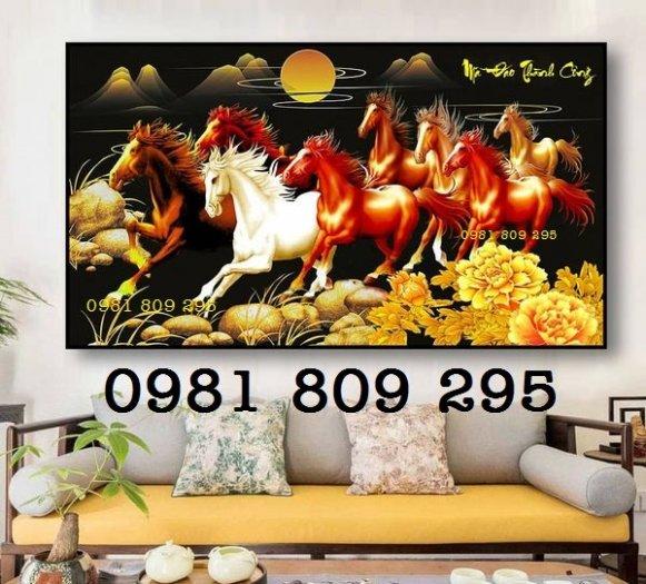 Tranh ngựa - tranh gạch 8 ngựa0