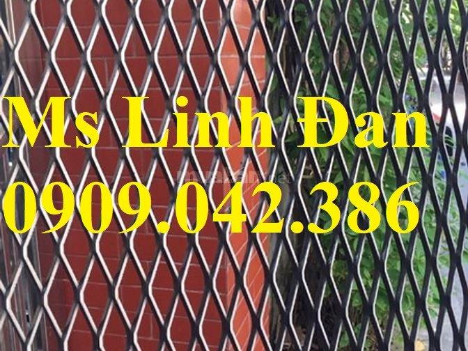 Lưới dập giãn dày 3ly, lưới dập giãn day 4ly, lưới dập giãn 5ly,3