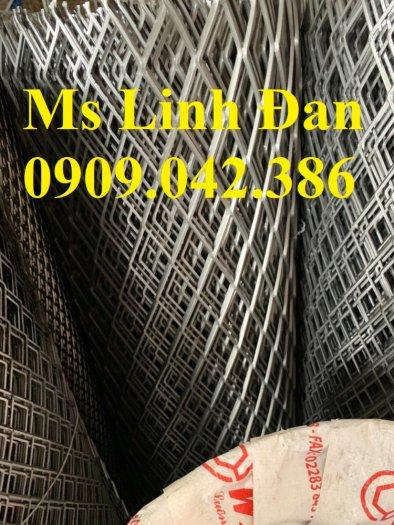 Lưới thép hình thoi mạ kẽm, lưới thép dập giãn mạ kẽm, lưới thép xg,4