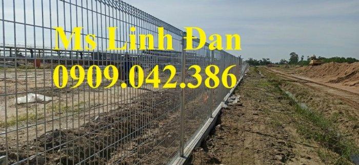 Các mẫu lưới thép hàng rào giá rẻ, các mẫu hàng rào lưới thép đẹp,4