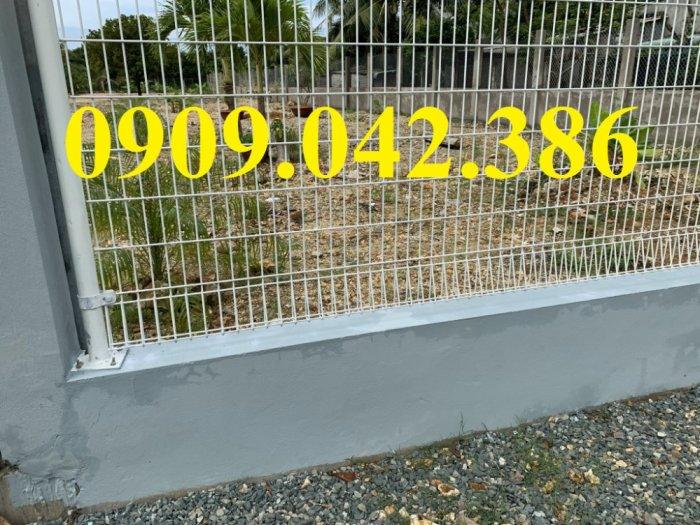 Hàng rào lưới thép mạ kẽm D3, D4, D5, D61