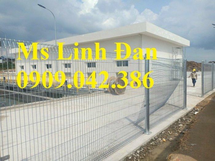 Hàng rào lưới thép mạ kẽm D3, D4, D5, D60