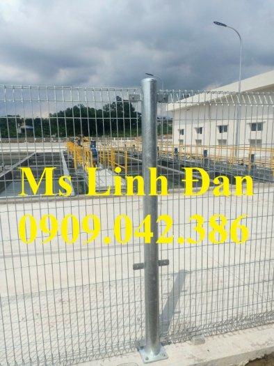 Lưới thép hàng rào mạ kẽm, lưới thép hàn chập, hàng rào mạ kẽm8