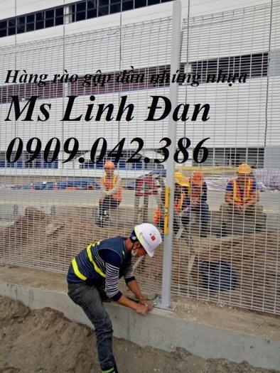 Lưới thép hàng rào mạ kẽm, lưới thép hàn chập, hàng rào mạ kẽm6
