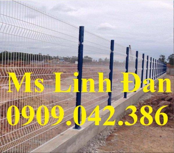 Lưới thép hàng rào mạ kẽm, lưới thép hàn chập, hàng rào mạ kẽm4
