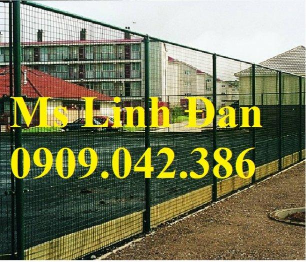 Lưới thép hàng rào mạ kẽm, lưới thép hàn chập, hàng rào mạ kẽm1