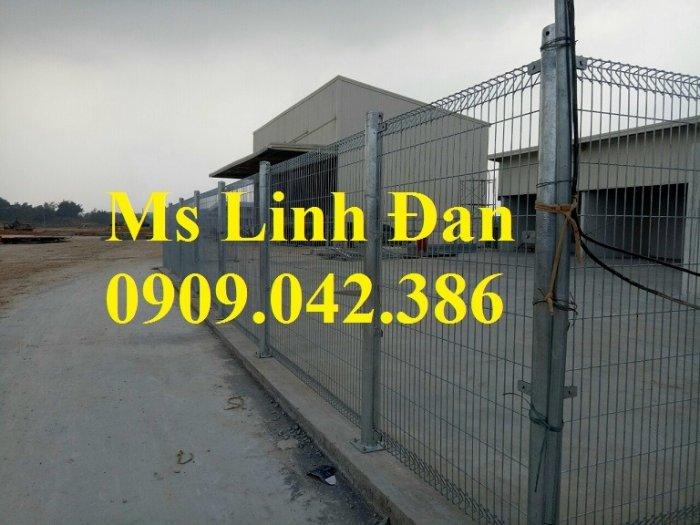 Hàng rào lưới thép, hàng rào mạ kẽm, hàng rào bảo vệ khu công nghiệp12