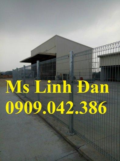 Hàng rào lưới thép, hàng rào mạ kẽm, hàng rào bảo vệ khu công nghiệp11