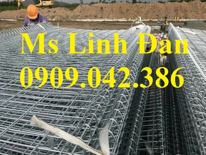Hàng rào lưới thép, hàng rào mạ kẽm, hàng rào bảo vệ khu công nghiệp10