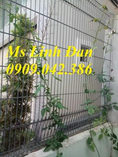Hàng rào lưới thép, hàng rào mạ kẽm, hàng rào bảo vệ khu công nghiệp5