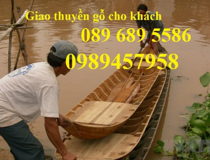 Mẫu thuyền gỗ đẹp trang trí nhà hàng, Thuyền gỗ trưng bày quán hải sản, Thuyền gỗ trang trí 3m15