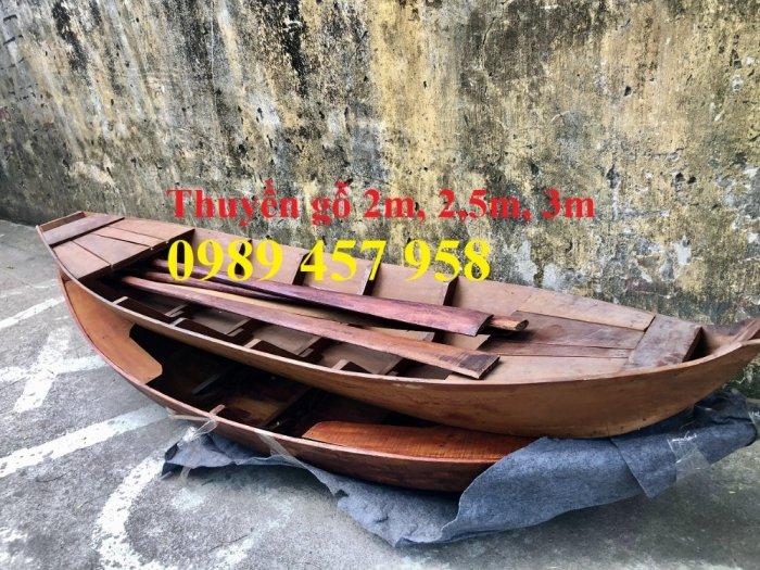 Mẫu thuyền gỗ đẹp trang trí nhà hàng, Thuyền gỗ trưng bày quán hải sản, Thuyền gỗ trang trí 3m14
