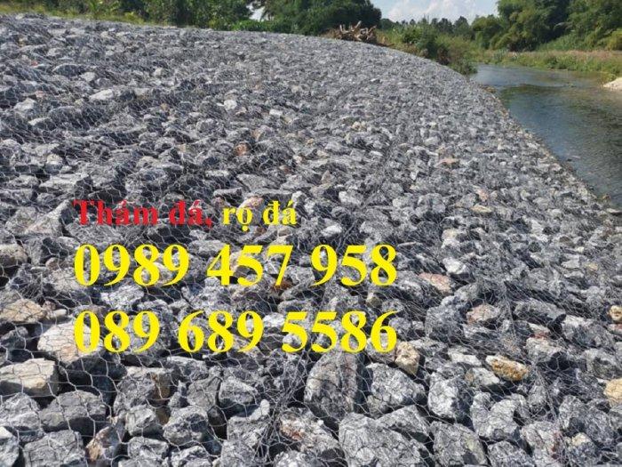 Sản xuất Rọ đá mạ kẽm Rọ đá hộc, Rọ thép bọc nhựa, Rọ đá 2 khối có sẵn mới 100%4