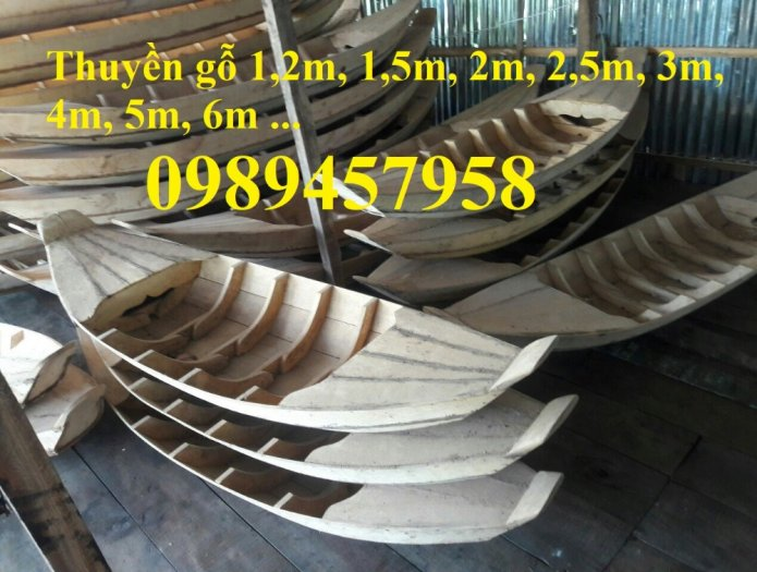 Mẫu thuyền gỗ 3m, 3,5m, 4m, Xuồng gỗ, Thuyền gỗ 4m5