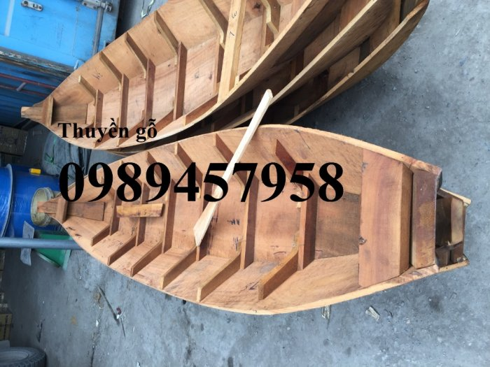 Mẫu thuyền gỗ 3m, 3,5m, 4m, Xuồng gỗ, Thuyền gỗ 4m2