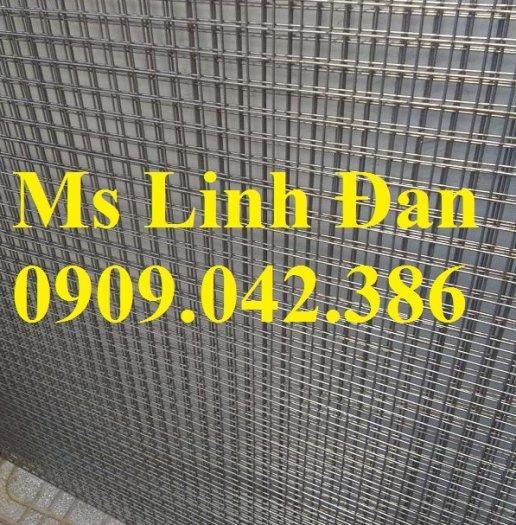 Lưới hàn inox chử nhật, lưới hàn inox dày 1ly, lưới hàn inox dày 2 ly, lưới hàn inox dày 3 ly,4
