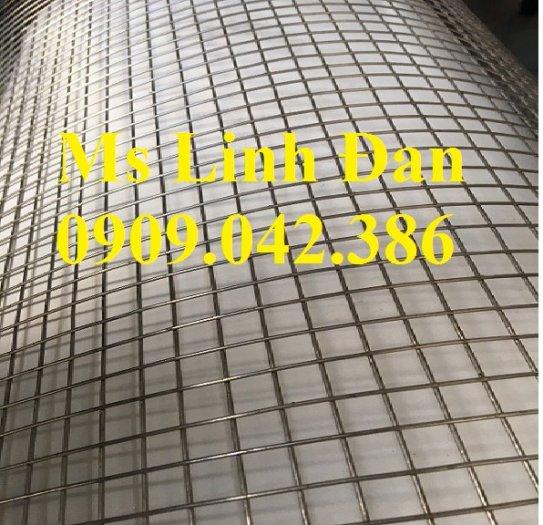 Lưới hàn inox chử nhật, lưới hàn inox dày 1ly, lưới hàn inox dày 2 ly, lưới hàn inox dày 3 ly,0