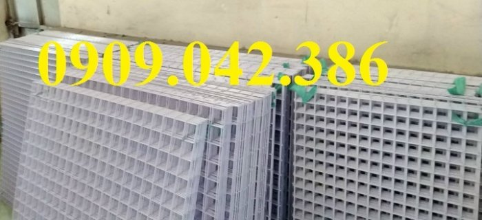 Lưới thép sơn tĩnh điên dạng tấm, lưới thép sơn tĩnh điện d3 a30x30,9