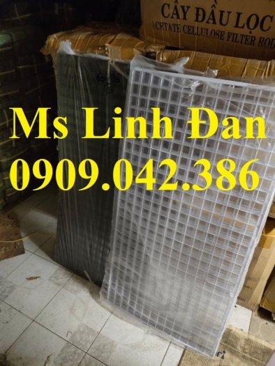 Lưới thép sơn tĩnh điên dạng tấm, lưới thép sơn tĩnh điện d3 a30x30,7
