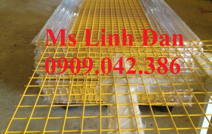 Lưới thép sơn tĩnh điên dạng tấm, lưới thép sơn tĩnh điện d3 a30x30,6