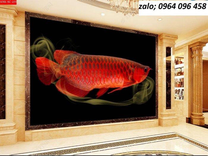 Tranh gạch 3d cá chép - HNBV47