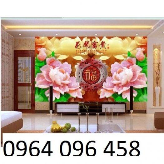 Tranh gạch men 3d trang trí phòng khách - BVC33