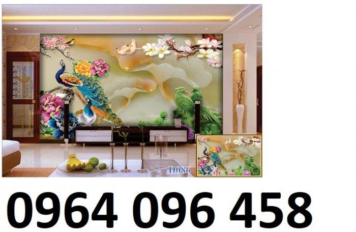Tranh gạch men 3d trang trí phòng khách - BVC32