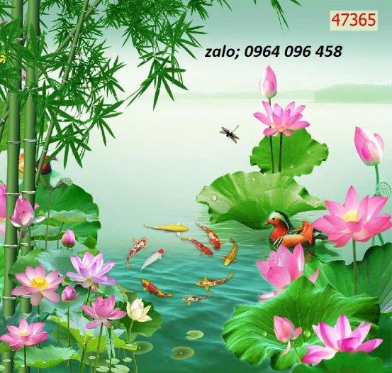 Tranh gạch 3d ốp tường mẫu phong cảnh thiên nhiên - 656XP5