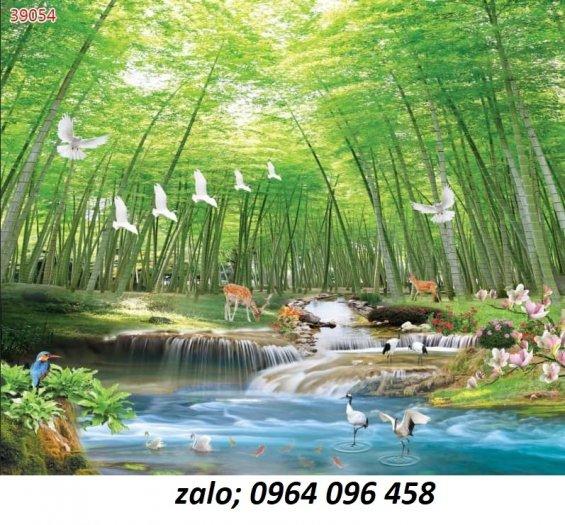 Tranh gạch 3d ốp tường mẫu phong cảnh thiên nhiên - 656XP0