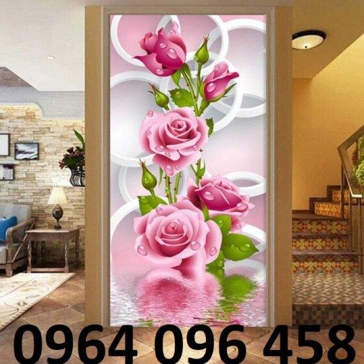 Tranh gạch 3d hoa ngọc - 54SM15