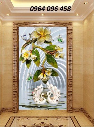 Tranh gạch 3d hoa ngọc - 54SM7