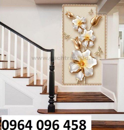 Tranh gạch 3d hoa ngọc - 54SM0