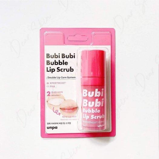 Tẩy tế bào chết môi Unpa Bubi Bubi Lip0