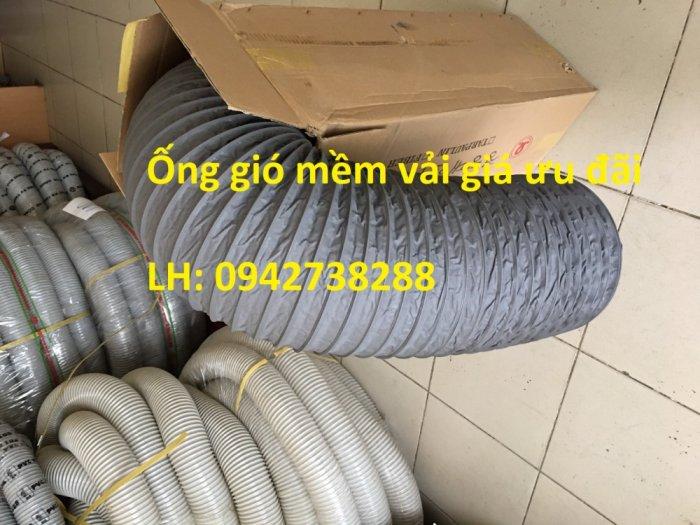 Ống gió mềm vải Tarpaulin dùng trong hệ thống không khí.1