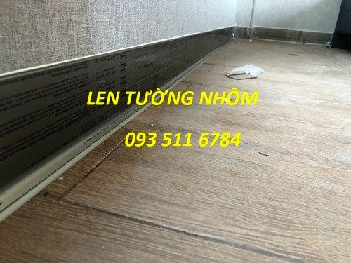 Len tường nhôm - Len tường nhựa PVC - Len tường Inox màu4