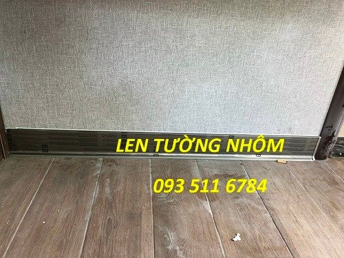 Len tường nhôm - Len tường nhựa PVC - Len tường Inox màu1