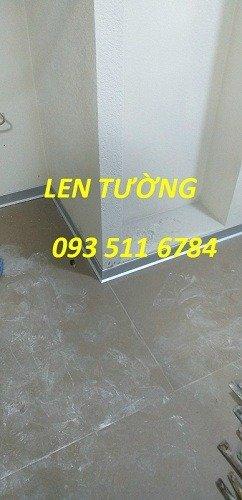 Len tường nhôm - Len tường nhựa PVC - Len tường Inox màu0