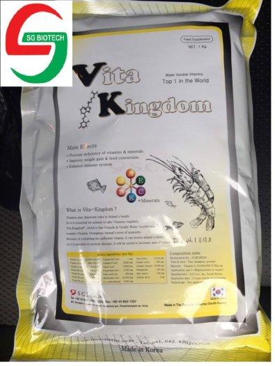 Mua bán vitamin tổng hợp bổ sung cho tôm cá - Vitamin king dom2