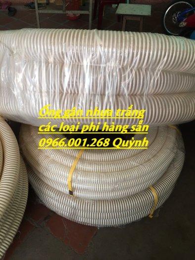 Báo giá đại lý ống gân nhựa trắng , ống cổ trâu , ống gân xoắn phi 50,60,76,90,100 giá tốt2