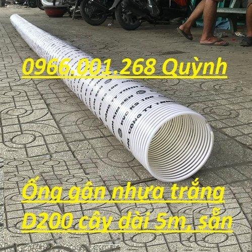 Báo giá đại lý ống gân nhựa trắng , ống cổ trâu , ống gân xoắn phi 50,60,76,90,100 giá tốt0