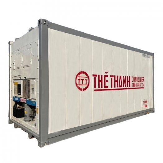 Container lạnh 20feet máy Daikin âm 18 độ2