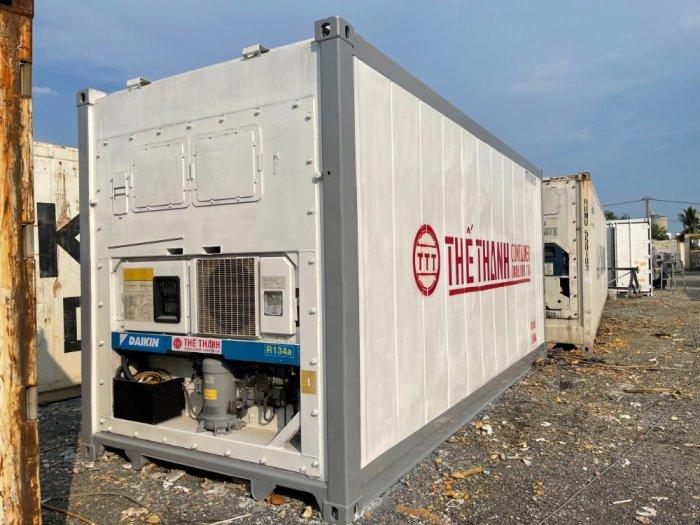 Container lạnh 20feet máy Daikin âm 18 độ1
