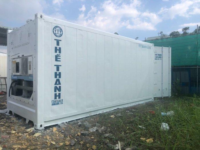 Container lạnh 20feet Thế Thanh sơn mới2