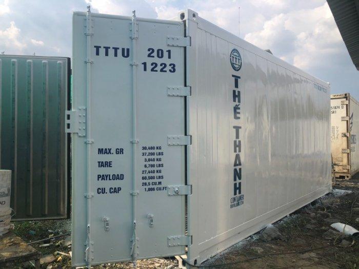 Container lạnh 20feet Thế Thanh sơn mới1