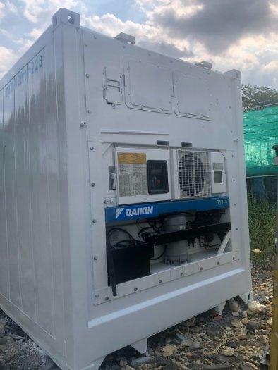 Container lạnh 20feet Thế Thanh sơn mới0