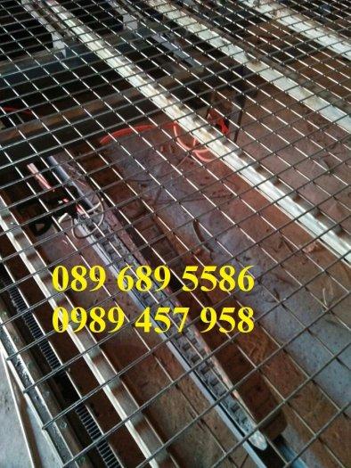 Lưới thép đen D3 ô 50x50, 100x100, Lưới mạ kẽm hàng rào D4 200x2001