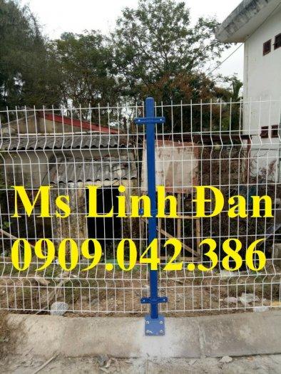 Hàng rào lưới thép sơn tĩnh điện, lắp đặt hàng rào lưới thép sơn tĩnh điện,10