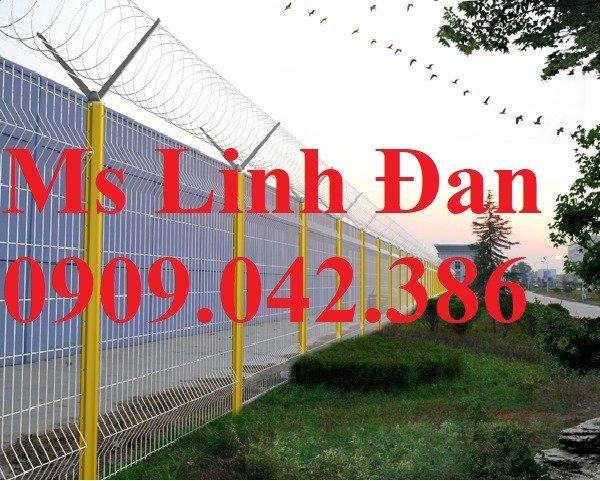 Hàng rào lưới thép sơn tĩnh điện, lắp đặt hàng rào lưới thép sơn tĩnh điện,7