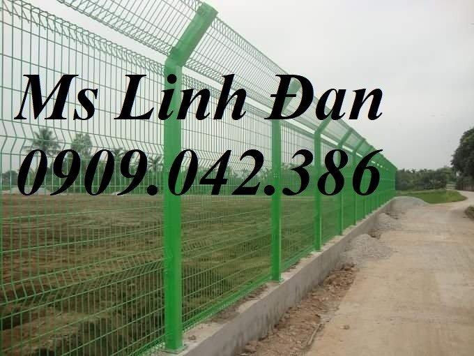 Hàng rào lưới thép sơn tĩnh điện, lắp đặt hàng rào lưới thép sơn tĩnh điện,3